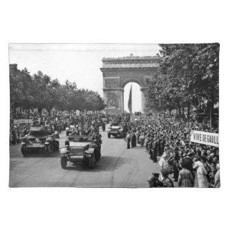 B&W Arc De Triomphe 2 Place Mat