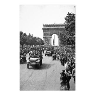 B&W Arc De Triomphe 2 Stationery