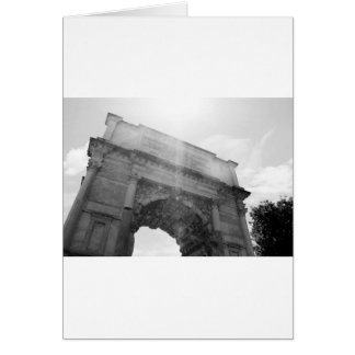 B&W Arc de Triomphe 6 Card