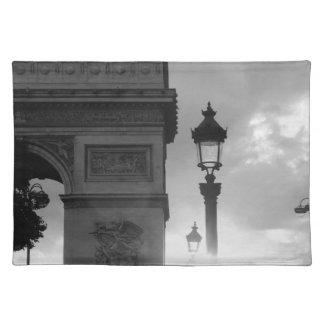 B&W Arc De Triomphe Place Mat