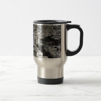 B&W Arc de Triomphe Travel Mug