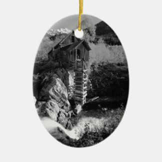 B&W Aspen 2 Christmas Ornament