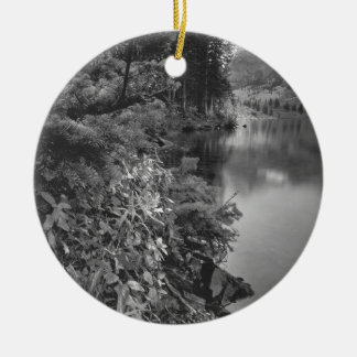 B&W Aspen 5 Christmas Ornament