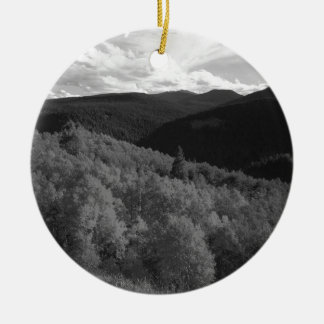 B&W Aspen 8 Christmas Ornament