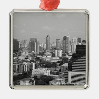 B&W Bangkok Christmas Ornament