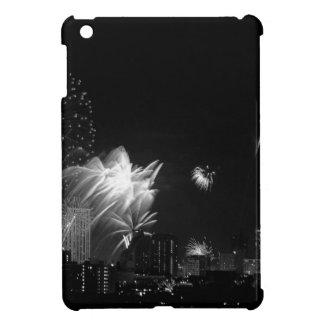 B&W Bangkok fireworks Case For The iPad Mini