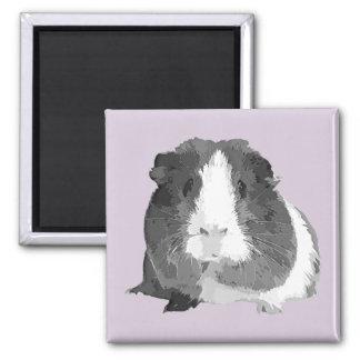 B&W 'Betty' Guinea Pig Fridge Magnet