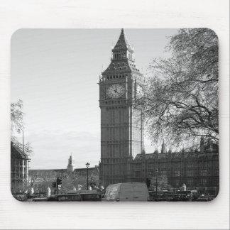 B/W Big Ben London Mousepad