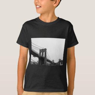 B&W Brooklyn Bridge T-Shirt