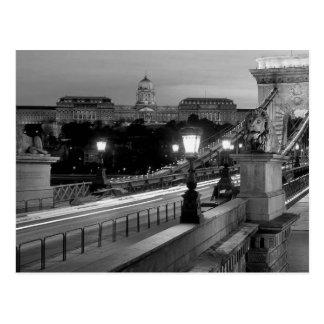 B&W Budapest Postcard
