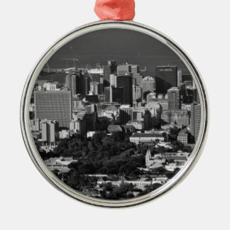B&W Cape Town Christmas Ornament
