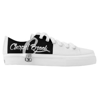 b/w chapel brook canvas shoes for women printed shoes