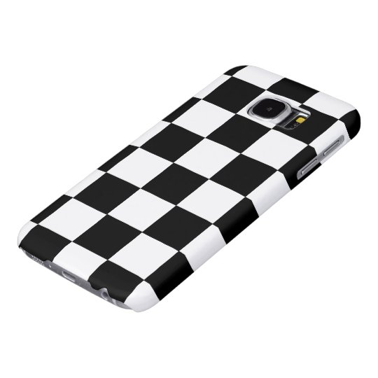 B+W Chequered Galaxy S6 Cases