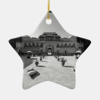 B&W Chomu Palace Christmas Ornament