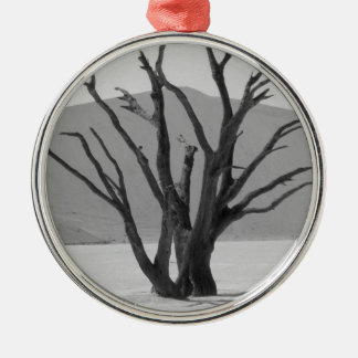 B&W Dead Vlei 2 Christmas Ornament