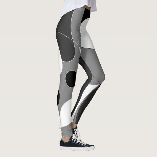 B&W Design Leggings