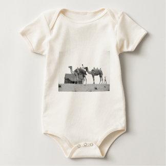 B&W Dubai desert Baby Bodysuit