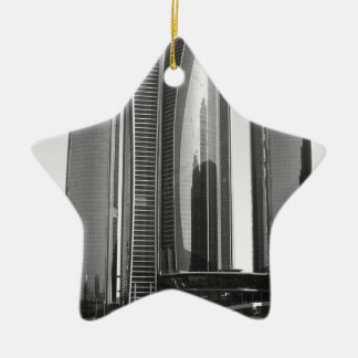 B&W Etihad Towers Ceramic Star Decoration