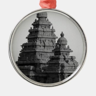 B&W Golden Temple in India Christmas Ornament