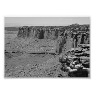 B&W Grand Canyon 2 Photo Print