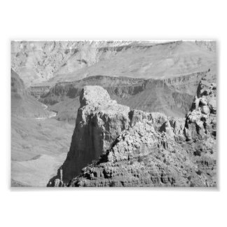 B&W Grand Canyon 3 Photo Print