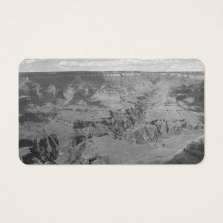 B&W Grand Canyon National Park 2 Business Card