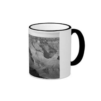 B&W Grand Canyon National Park 4 Ringer Mug