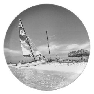 B&W Havana Beach Plate