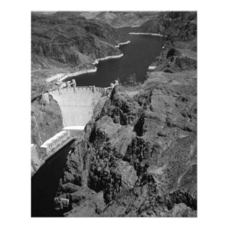 B&W Hoover Dam 11.5 Cm X 14 Cm Flyer