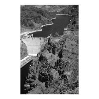 B&W Hoover Dam 14 Cm X 21.5 Cm Flyer