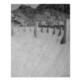 B&W Hoover Dam 2 11.5 Cm X 14 Cm Flyer
