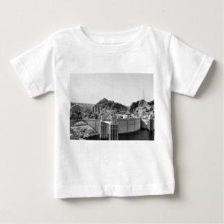 B&W Hoover Dam 5 Baby T-Shirt
