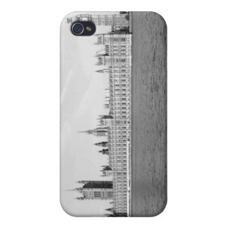 B/W i of the Houses of Parliament London Case For iPhone 4
