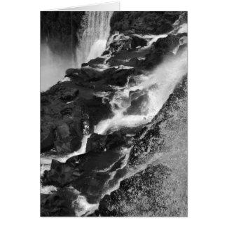 B&W Iguazu Falls Card