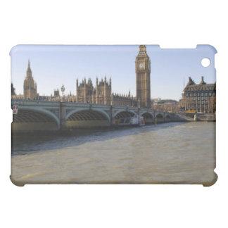 B/W iPad Case of Westminster Bridge London