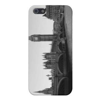 B/W iPhone Case of Westminster Bridge London iPhone 5 Covers