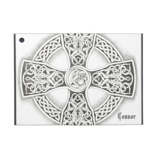 B&W Irish Celtic Cross Ipad Mini Case