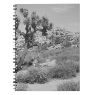 B&W Joshua Tree National Park 3 Notebook