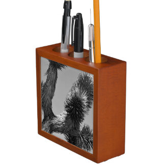 B&W Joshua Tree National Park 4 Desk Organiser