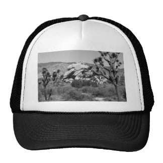B&W Joshua Tree National Park 5 Cap
