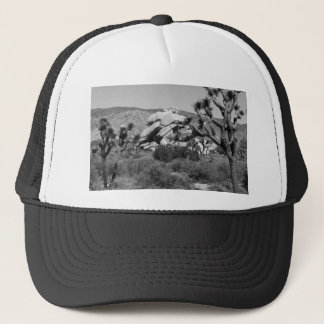 B&W Joshua Tree National Park 5 Trucker Hat
