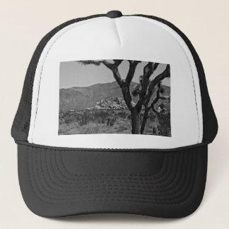 B&W Joshua Tree National Park 6 Trucker Hat