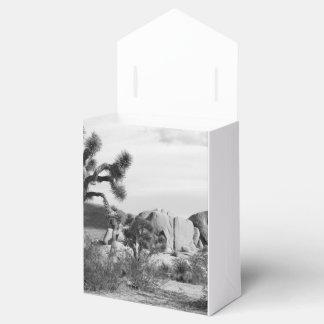 B&W Joshua Tree National Park Favour Box