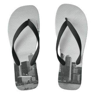 B&W Manhattan Flip Flops