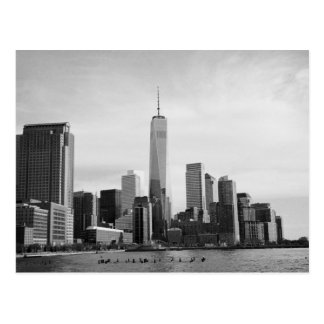 B&W Manhattan Postcard