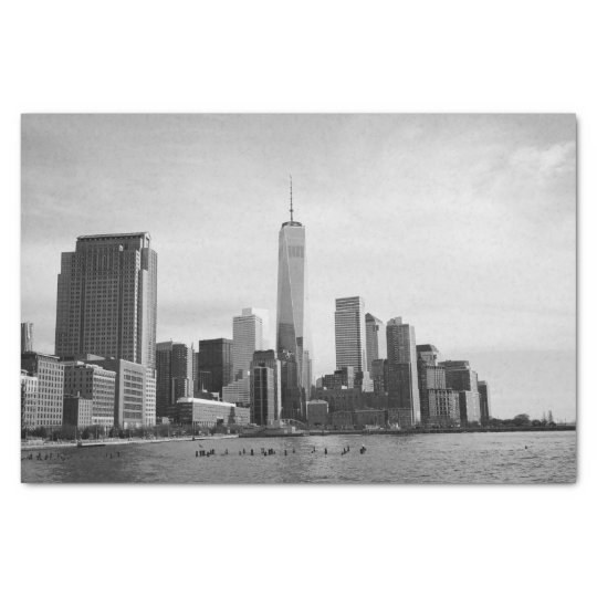 B&W Manhattan Tissue Paper