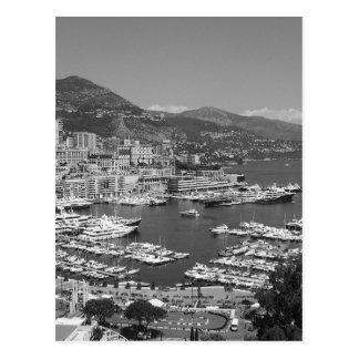B&W Monaco Postcard