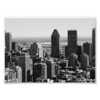 B&W Montreal 2 Photo Print