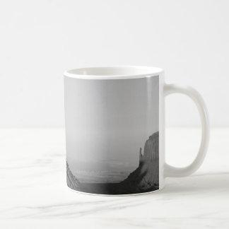 B&W Monument Valley 2 Coffee Mug