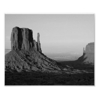 B&W Monument Valley 2 Photo
